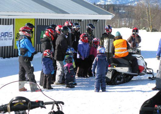Opplæring snøscooter